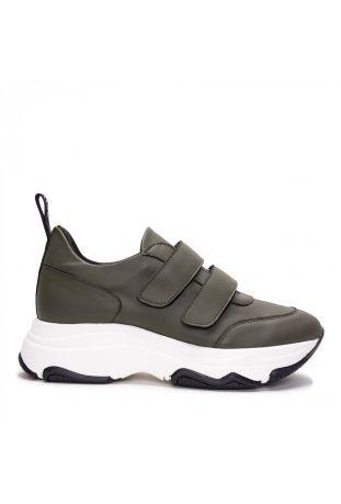Nae Coline Maxi Sole Beige Vegan Sneakers