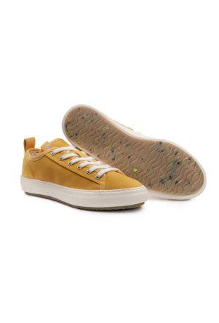 Zouri Bloom Mustard sneakersy wegańskie