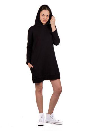 Riffy sukienka damska z kapturem bawełna organiczna