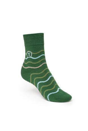 ThokkThokk WAVES Mid-Top Socken Fairtrade & GOTS Bio Baumwolle