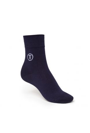 ThokkThokk Mid-Top Socken BLUE Fairtrade & GOTS Bio Baumwolle