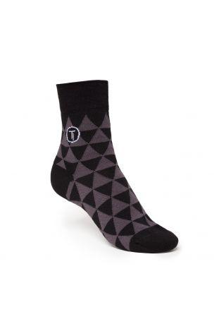 ThokkThokk TRIANGLE Mid-Top Socken Fairtrade & GOTS Bio Baumwolle