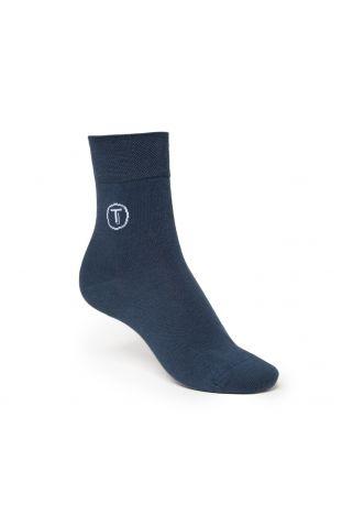 ThokkThokk TEAL Mid-Top Socken Fairtrade & GOTS Bio Baumwolle