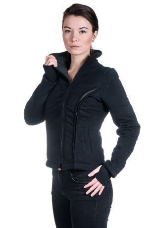 MOTION Bio-Baumwolle zip off Damen-sweatshirt