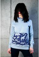 Bronx bluza damska bawełna organiczna