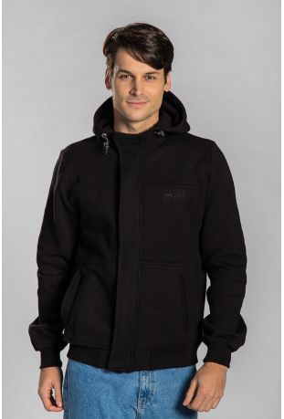 Impuls Bio-Baumwolle Herren-sweatshirt schwarz