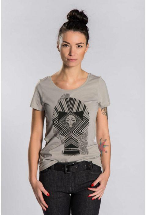 Koszulka damska V neck Bawełna Organiczna