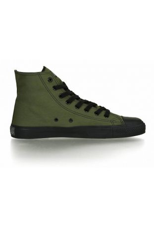 FAIR TRAINER BLACK CAP HI CUT CLASSIC CAMPING GREEN | JET BLACK