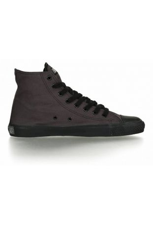 BLACK CAP HI CUT TRAMPKI WEGAŃSKIE CLASSIC MOON ROCK GREY | JET BLACK
