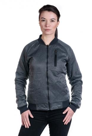 Reverse dwustronna kurtka damska z bawełny organicznej