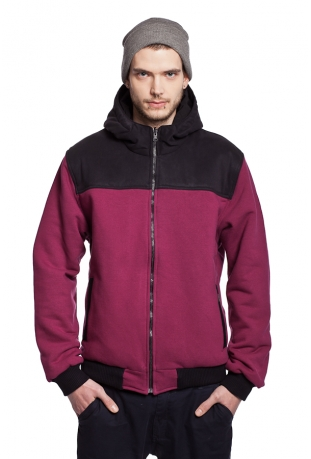 Bio-Baumwolle zip off sweatshirt The Bassmen
