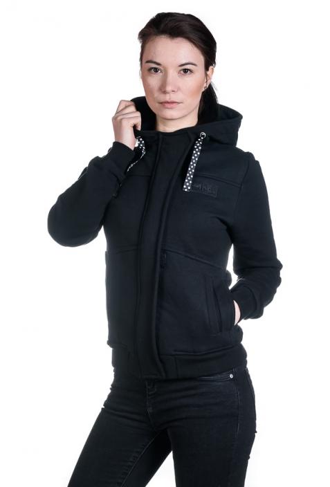 Impuls bluza damska bawełna organiczna czarny