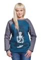 DEVI bluza damska by COXIE morska