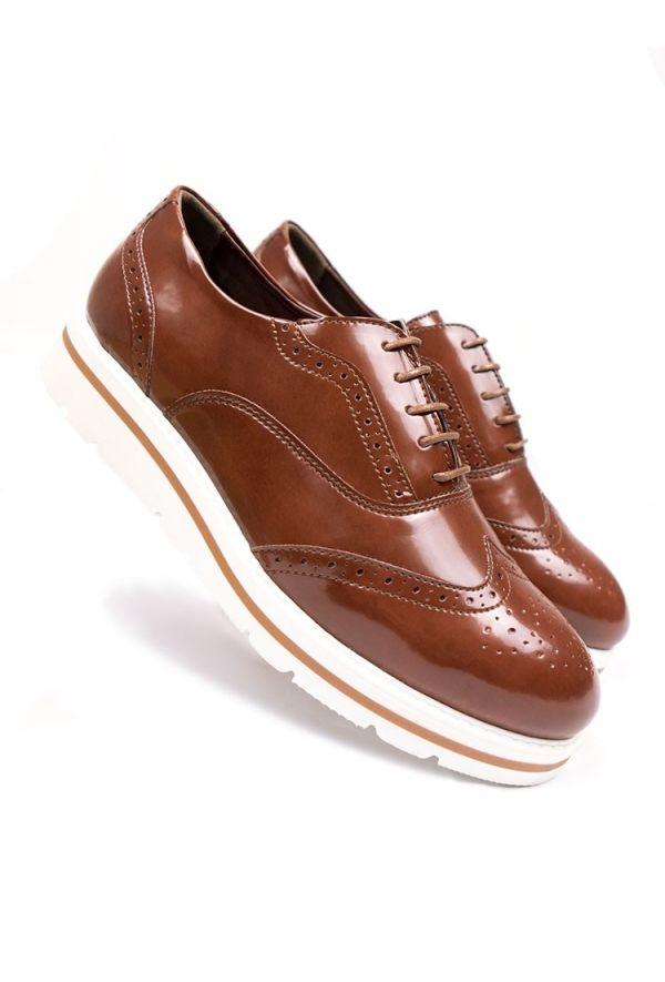 fd81a2020e39 Will's Vegan Shoes Flatform Brogues