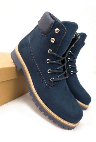 WOMEN'S DOCK BOOTS DARK BLUE