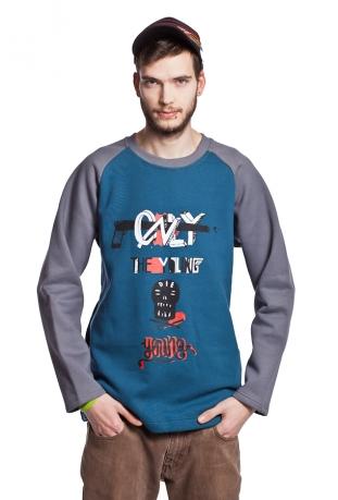 Lekka rozpinana bluza z bawełny organicznej The Bassman