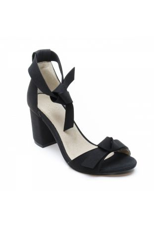 NAE ESTELA BLACK VEGAN SANDALS