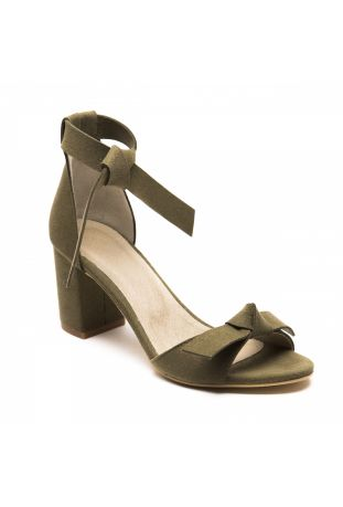 NAE ESTELA GREEN VEGAN SANDALS