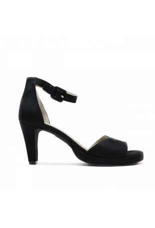 NAE REGINA BLACK VEGAN SANDALS