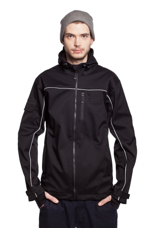 Recycled polyester softshell Jacke Frauen Looper