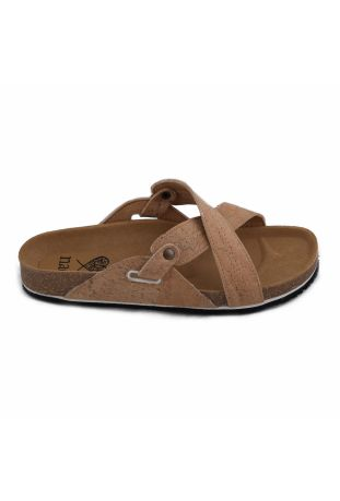 NAE PAXOS CORK VEGAN SANDALS
