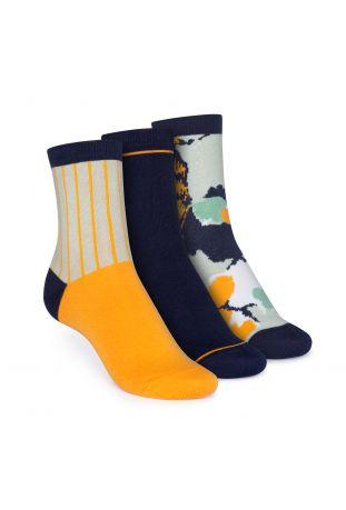 ThokkThokk Mid-Top Socken Sprinkles/Easy Stripe/Geometric Fairtrade & GOTS Bio Baumwolle