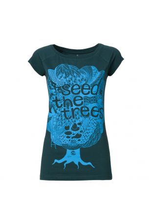 Seedthetreesi koszulka damska Fairtrade z nadrukiem