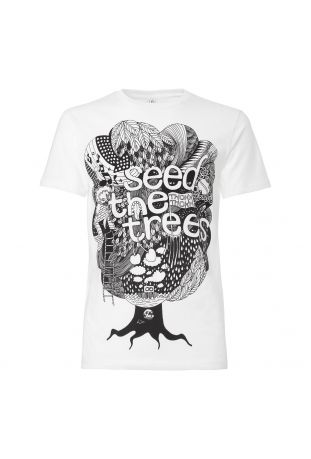 Seedthetrees Fairtrade & Bio Baumwolle Herren t-shirt