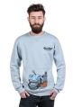 Blue Fish bluza męska by Niebieski Robi Kreski