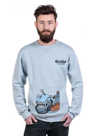Blue Fish Bio-Baumwolle Herren sweatshirt