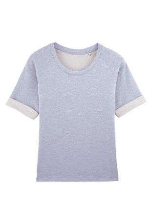 SLOGAN SORB ORGANIC COTTON WOMEN'S TOP