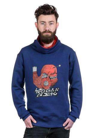 Poppy Fish Bio-Baumwolle Herren sweatshirt
