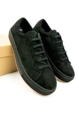 WILL' S WEGAŃSKIE SNEAKERSY COLOUR BLACK