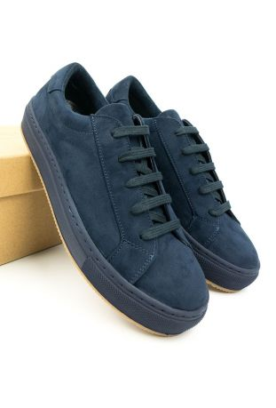 WILL' S WEGAŃSKIE SNEAKERSY COLOUR NAVY BLUE