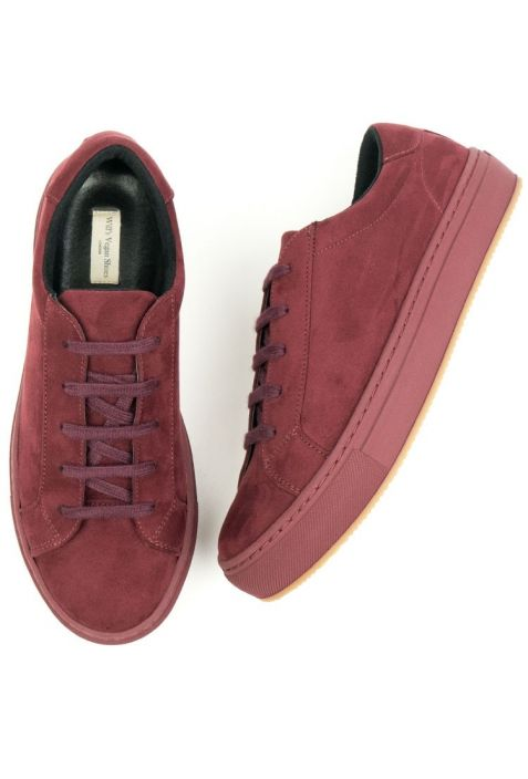 WILL' S WEGAŃSKIE SNEAKERSY COLOUR WINE