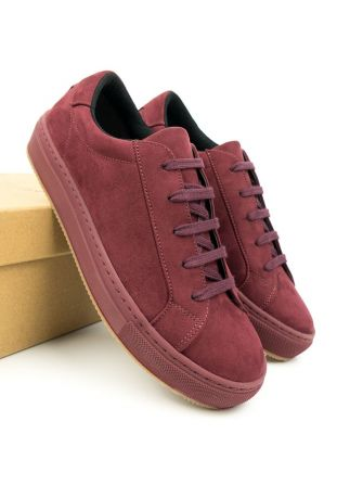 WILL' S COLOUR SNEAKERS WINE