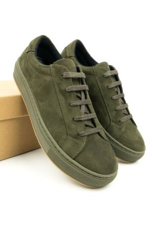 WILL' S WEGAŃSKIE SNEAKERSY COLOUR OLIVE
