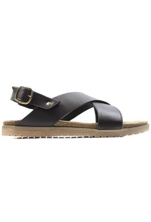 WILL'S WOMEN'S HUARACHE FOOTBEDS SANDALS BROWN