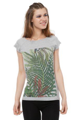 Jungle koszulka damska Fairtrade z nadrukiem