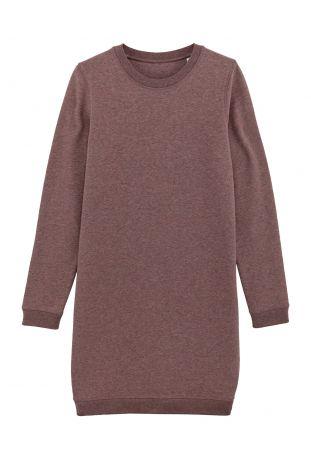 SLOGAN ROSE ORGANIC COTTON WOMEN'S DRESS