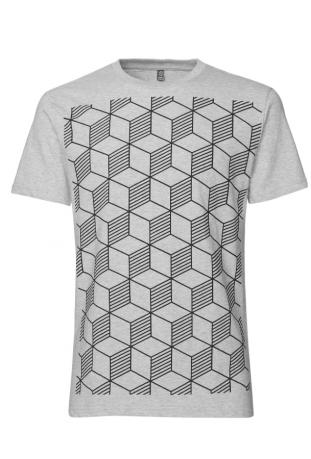 Fair Trade T-shirt z bawełny organicznej Sashiko