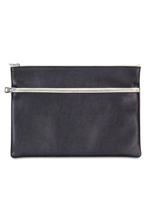 WILL' S A4 Vegan Pouch Black