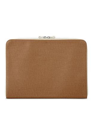WILL'S 13 Inch Vegan Laptop Case Chestnut
