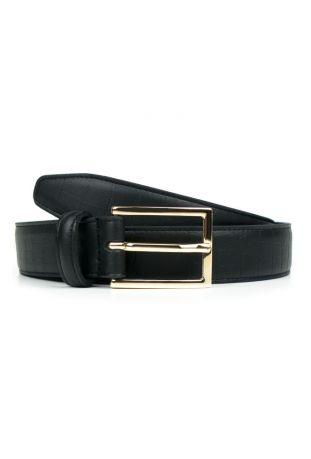 WILL'S Vegan Luxe 3cm Belt Tooled