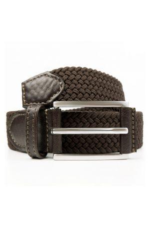 WILL'S Vegan Classic 3cm Belt Black