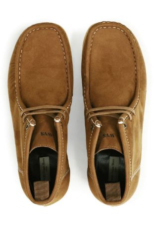 WILL'S Moccasin Brown Weganskie Mokasyny Męskie