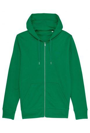 SLOGAN Kastanie Bio-Baumwolle Herren-Sweatshirt