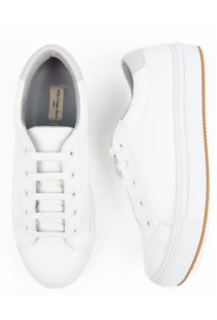 WILL'S Vegan NY White Trainers