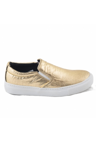 BARE GOLD SNEAKERSY SLIP-ON PINATEX™