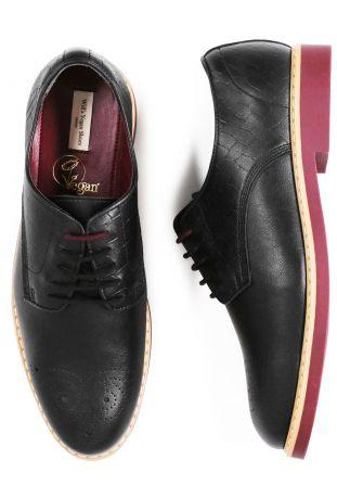Will's Signature Brogues wegańskie buty męskie
